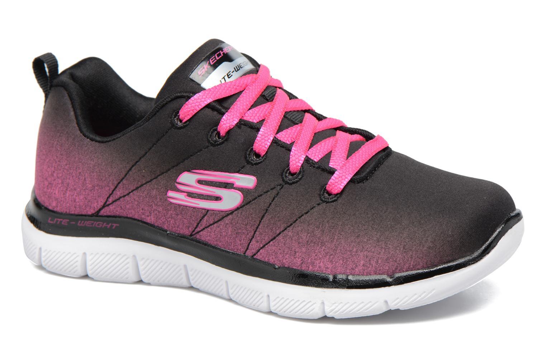 Chaussures de sport Skechers Skech Appeal 2.0 Bright Side Noir vue détail/paire