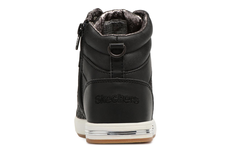 Baskets Skechers Shoutouts Noir vue droite
