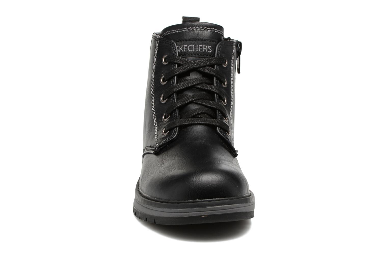 Bottines et boots Skechers Gravlen Noir vue portées chaussures