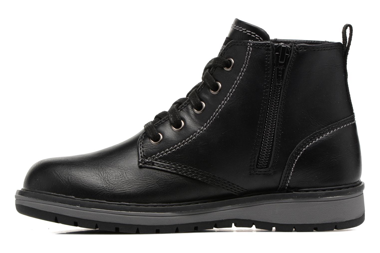 Bottines et boots Skechers Gravlen Noir vue face