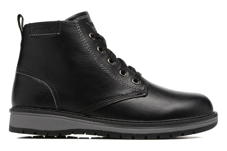Bottines et boots Skechers Gravlen Noir vue derrière