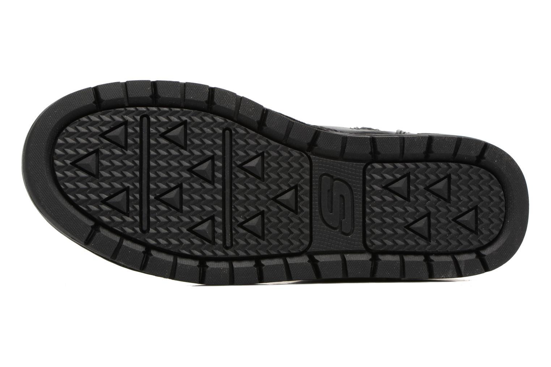Bottines et boots Skechers Gravlen Noir vue haut