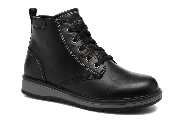 Bottines et boots Skechers Gravlen Noir vue détail/paire