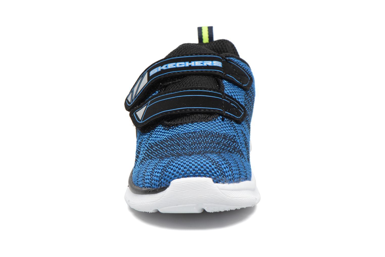 Chaussures de sport Skechers Skech-Lite Comfy Stepz Bleu vue portées chaussures