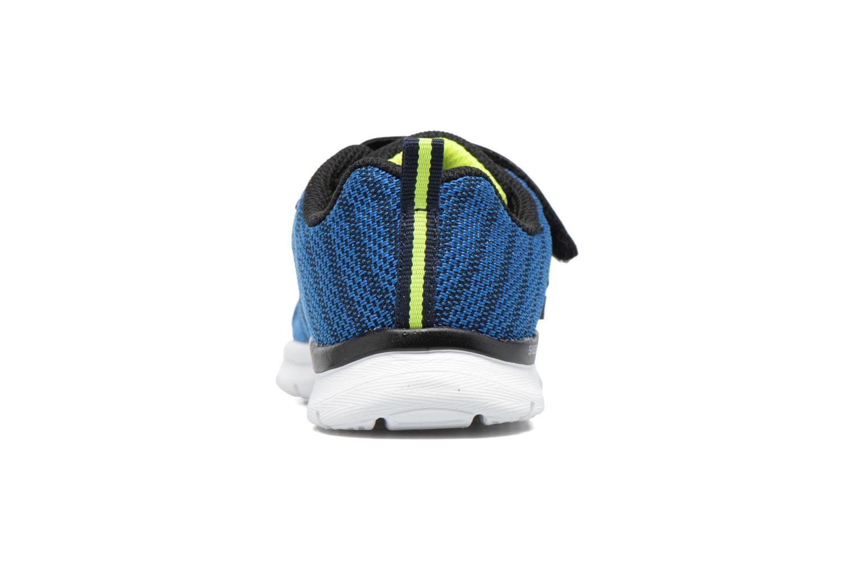 Chaussures de sport Skechers Skech-Lite Comfy Stepz Bleu vue droite