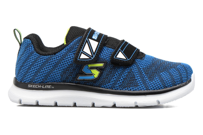Chaussures de sport Skechers Skech-Lite Comfy Stepz Bleu vue derrière