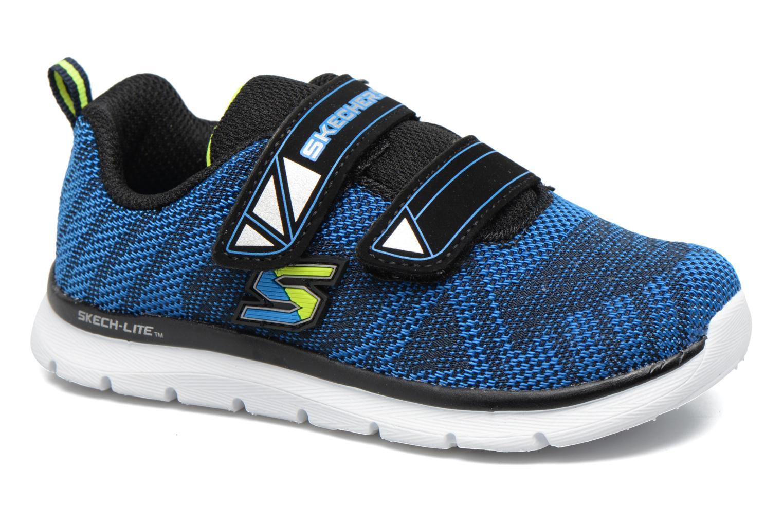Chaussures de sport Skechers Skech-Lite Comfy Stepz Bleu vue détail/paire