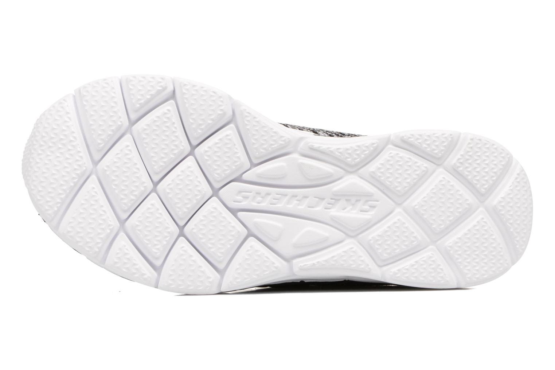 Chaussures de sport Skechers Air Advantage Sonic Blast Noir vue haut