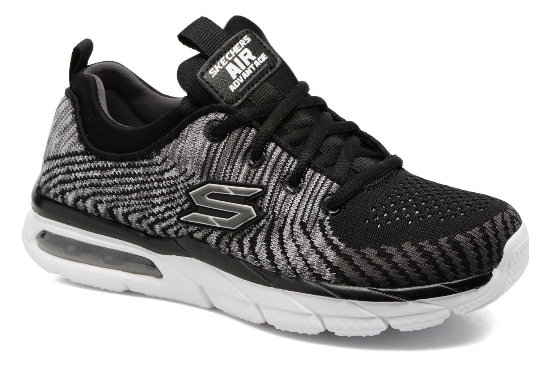 Chaussures de sport Skechers Air Advantage Sonic Blast Noir vue détail/paire