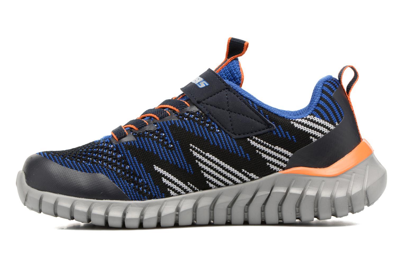 Chaussures de sport Skechers Spektrix Bleu vue face