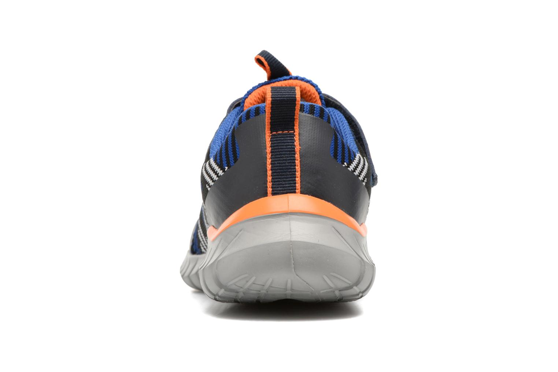 Chaussures de sport Skechers Spektrix Bleu vue droite