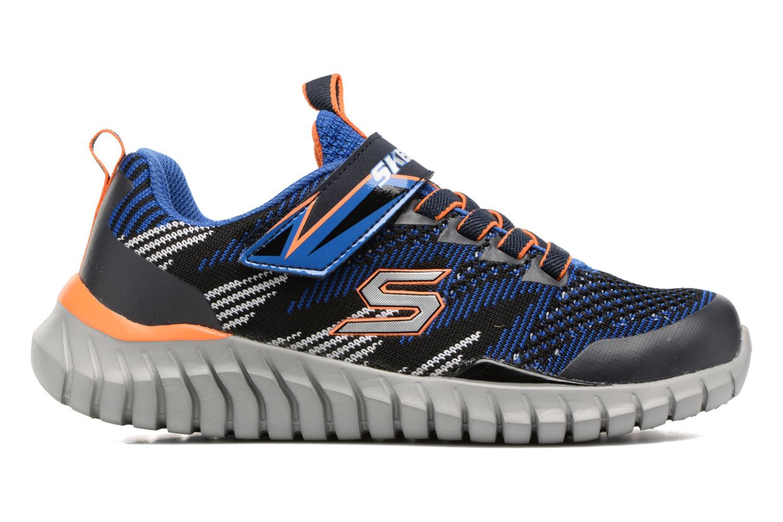 Sportschuhe Skechers Spektrix blau ansicht von hinten