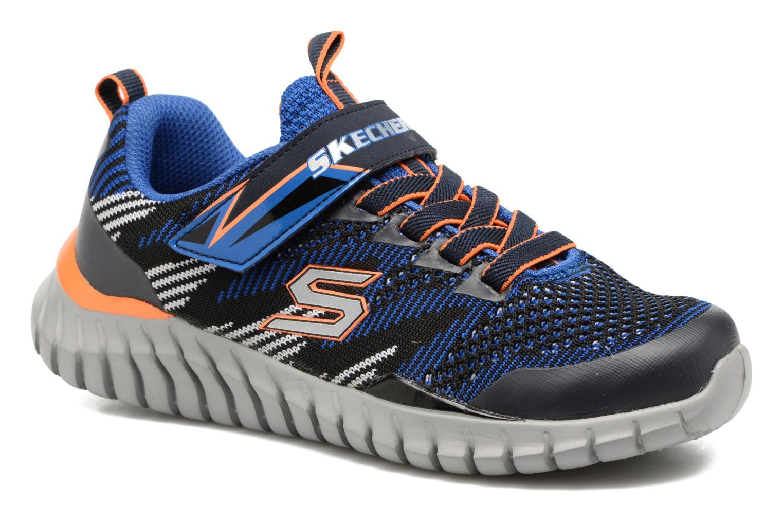 Chaussures de sport Skechers Spektrix Bleu vue détail/paire
