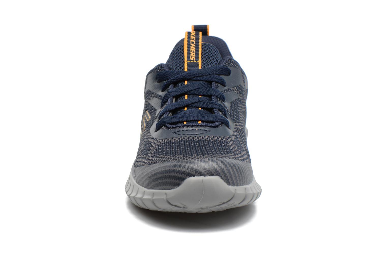 Sportskor Skechers Spektrix Down Stride Blå bild av skorna på