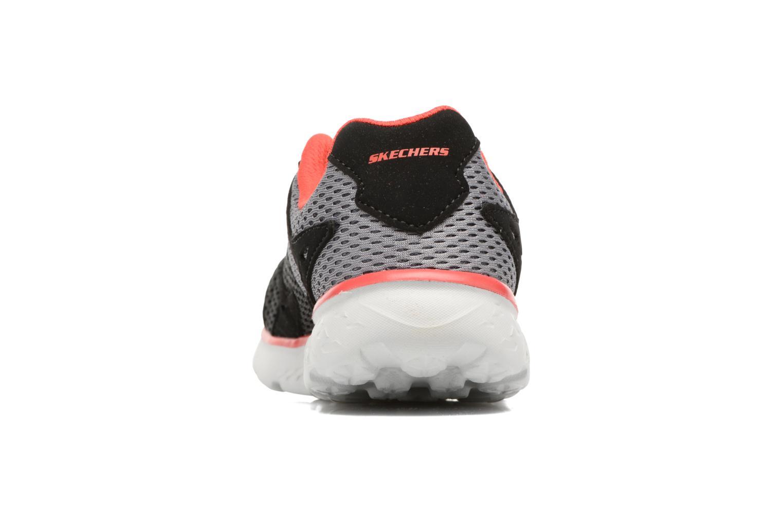 Chaussures de sport Skechers Go Run 400 Zodox Noir vue droite