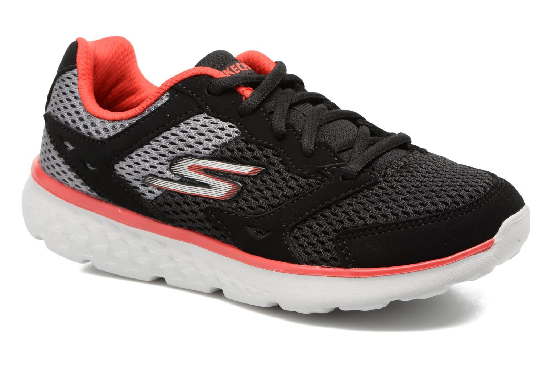 Chaussures de sport Skechers Go Run 400 Zodox Noir vue détail/paire