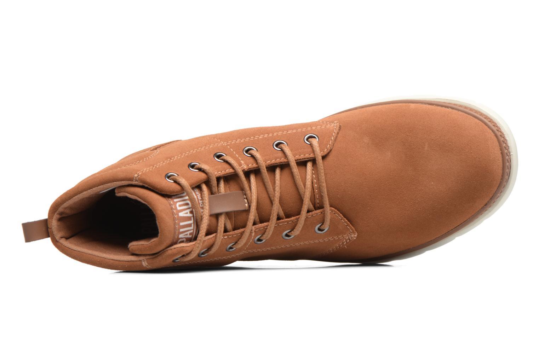 Bottines et boots Palladium Pallasider Mid Sue Marron vue gauche