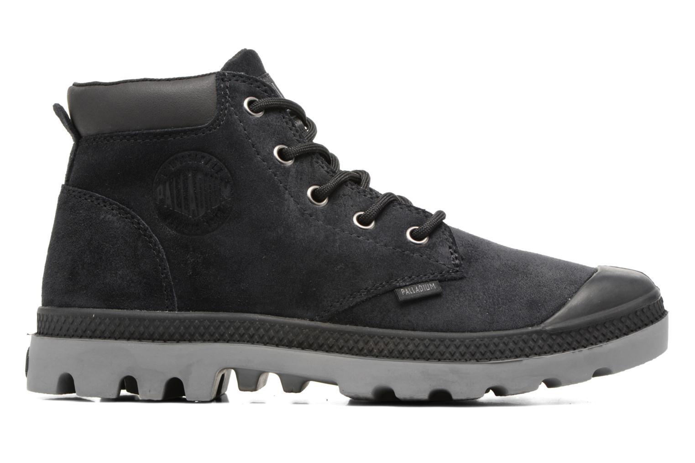 Bottines et boots Palladium Pampa Lo Cuff Sue Noir vue derrière