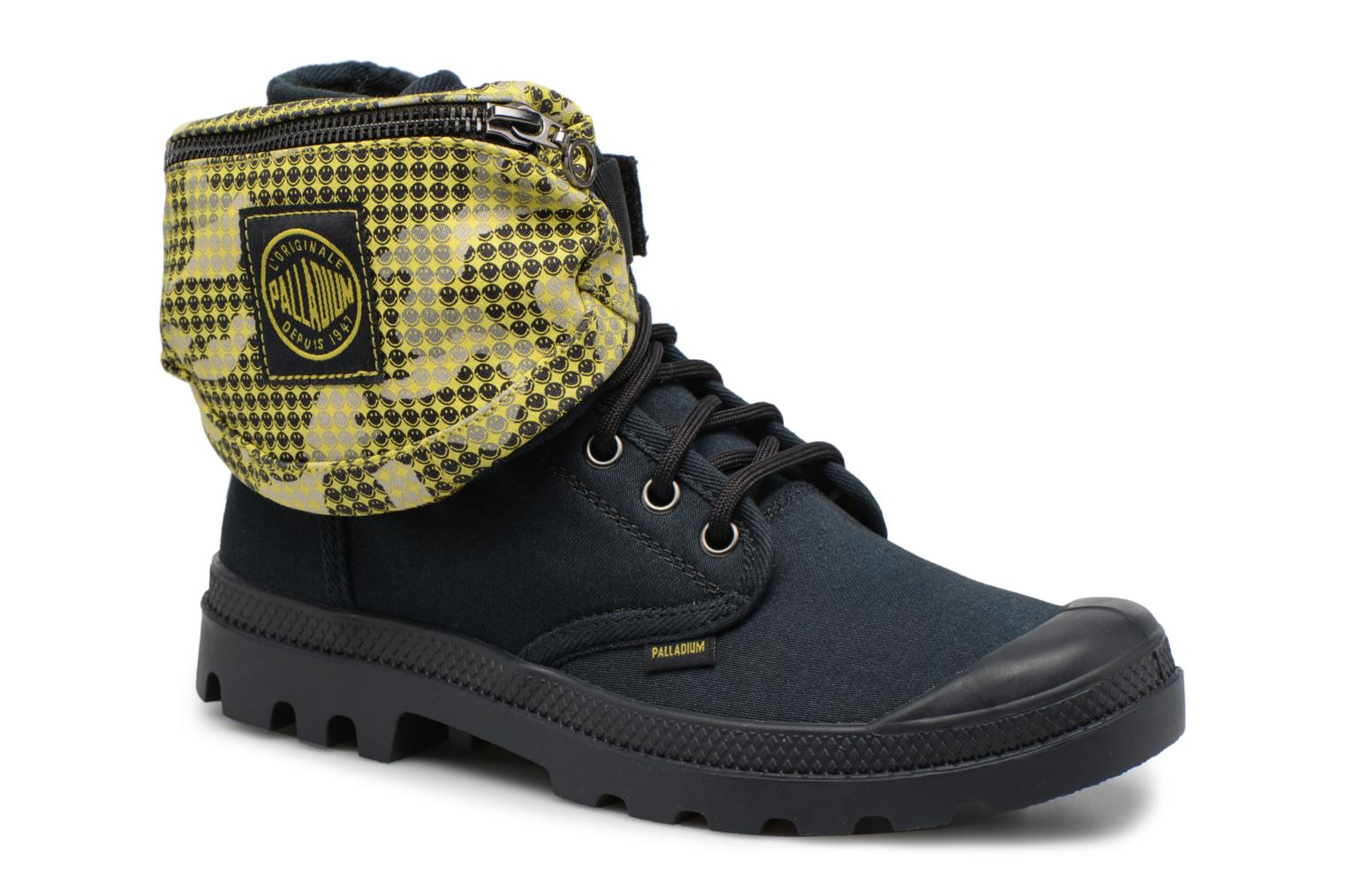 Trainers Palladium Pampa Fest Pack Black 3/4 view