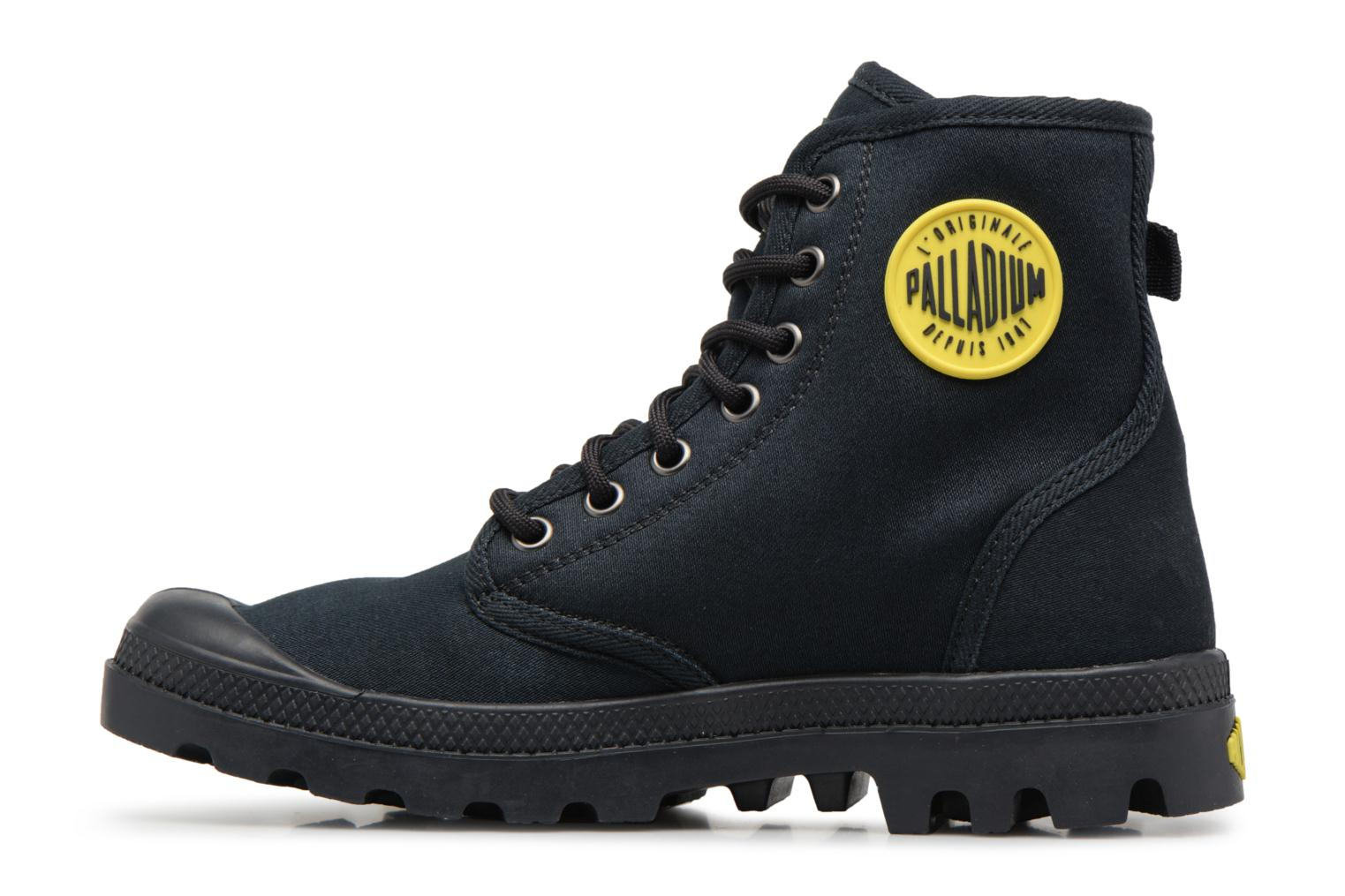 Trainers Palladium Pampa Fest Pack Black front view