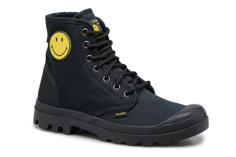 Sneakers Palladium Pampa Fest Pack Zwart detail