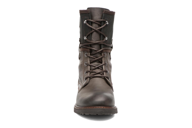 Bottines et boots P-L-D-M By Palladium Bupswing Mix Marron vue portées chaussures