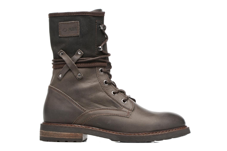 Bottines et boots P-L-D-M By Palladium Bupswing Mix Marron vue derrière