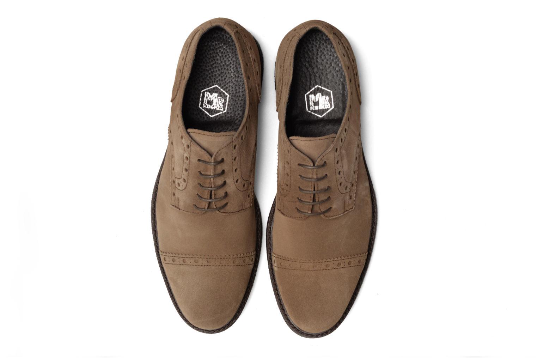 Chaussures à lacets Mr SARENZA Clent Beige vue portées chaussures