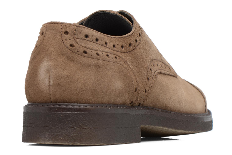 Chaussures à lacets Mr SARENZA Clent Beige vue face
