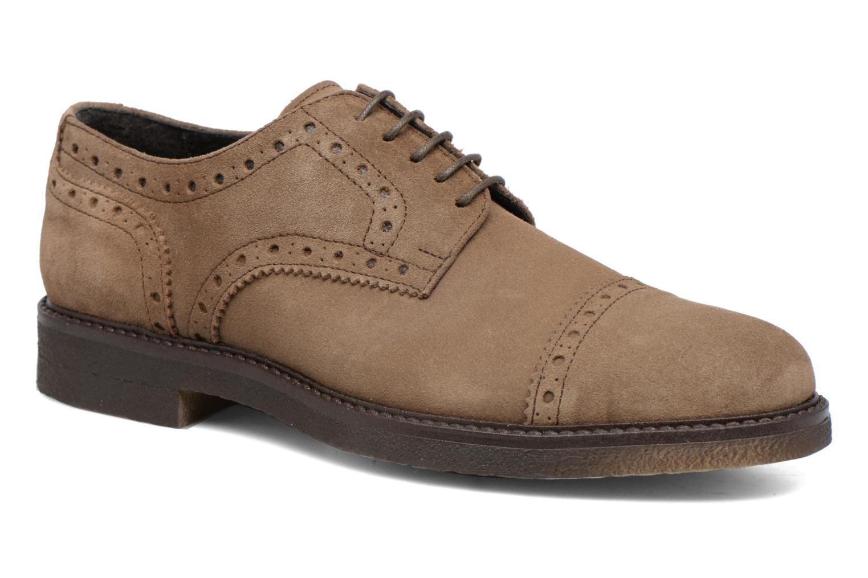 Chaussures à lacets Mr SARENZA Clent Beige vue droite