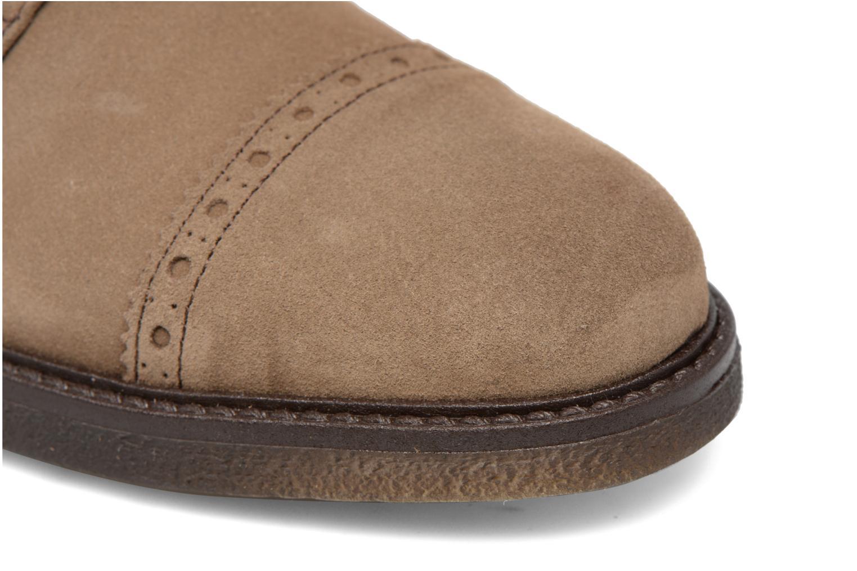 Chaussures à lacets Mr SARENZA Clent Beige vue gauche