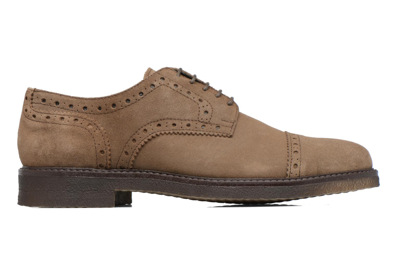 Chaussures à lacets Mr SARENZA Clent Beige vue détail/paire