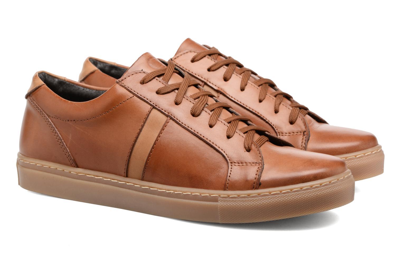 Sneakers Mr SARENZA Carlson Bruin achterkant
