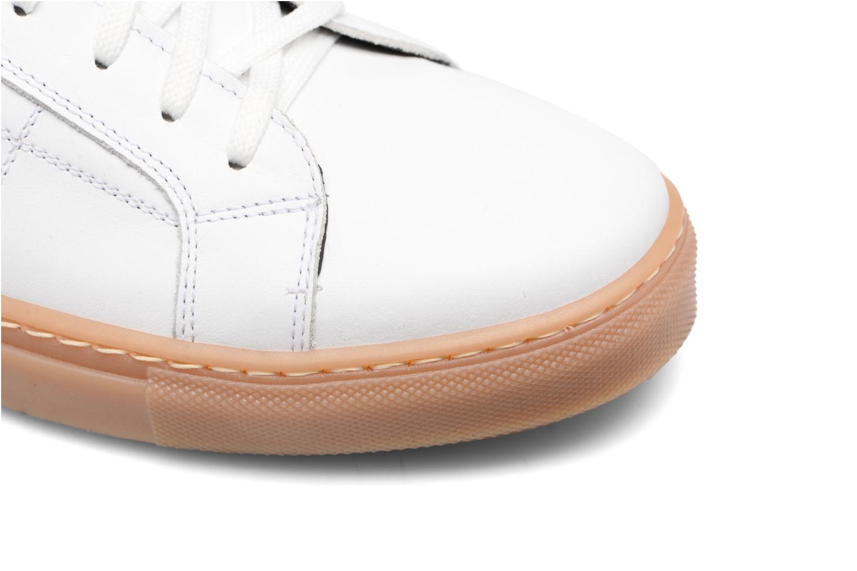 Baskets Mr SARENZA Carlson Blanc vue gauche