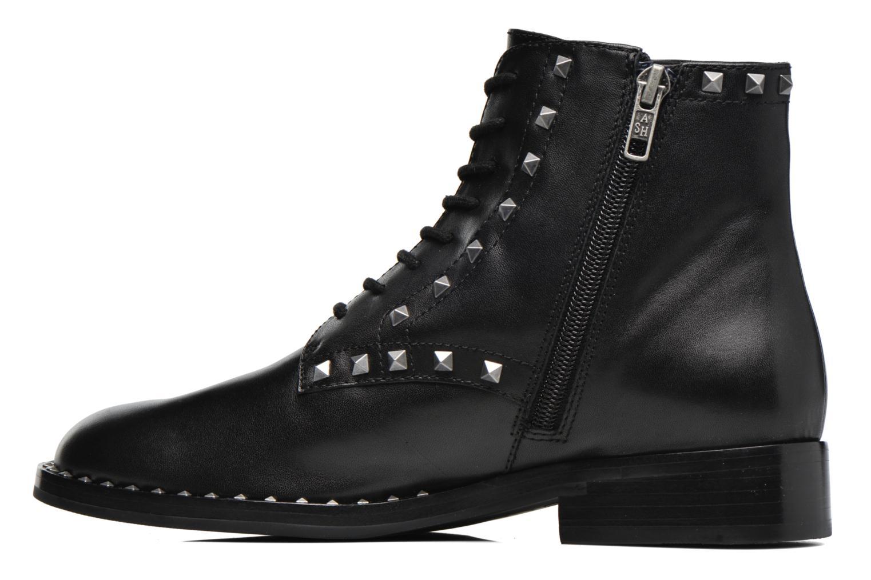 Bottines et boots Ash Whynot Noir vue face