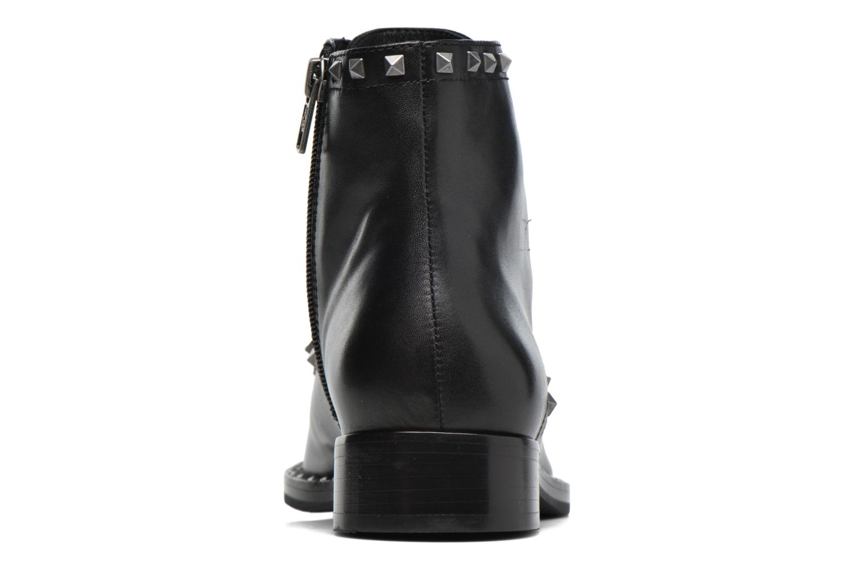 Bottines et boots Ash Whynot Noir vue droite