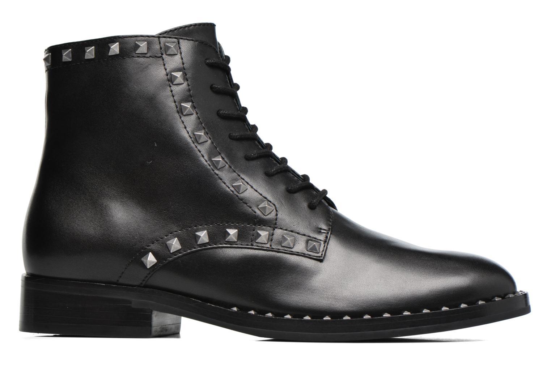 Bottines et boots Ash Whynot Noir vue derrière