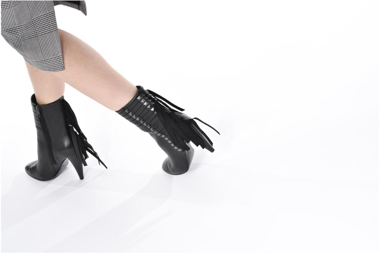 Bottines et boots Ash Brave Noir vue bas / vue portée sac