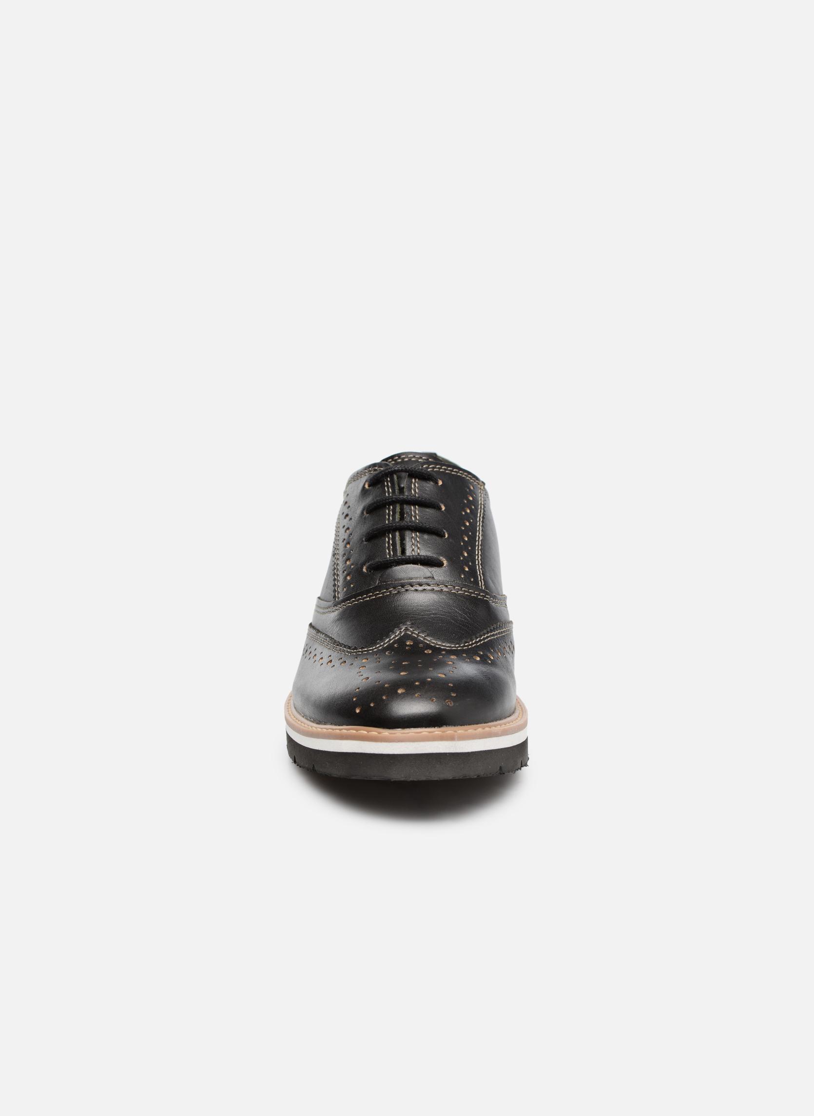 Chaussures à lacets TBS Calissa Noir vue portées chaussures