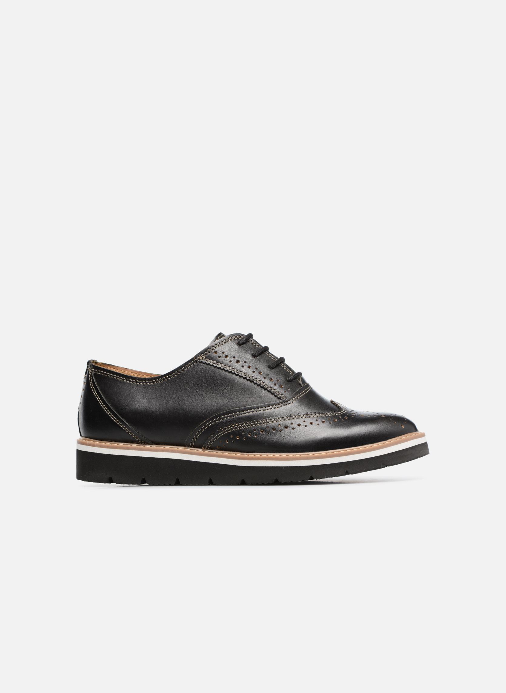 Chaussures à lacets TBS Calissa Noir vue derrière
