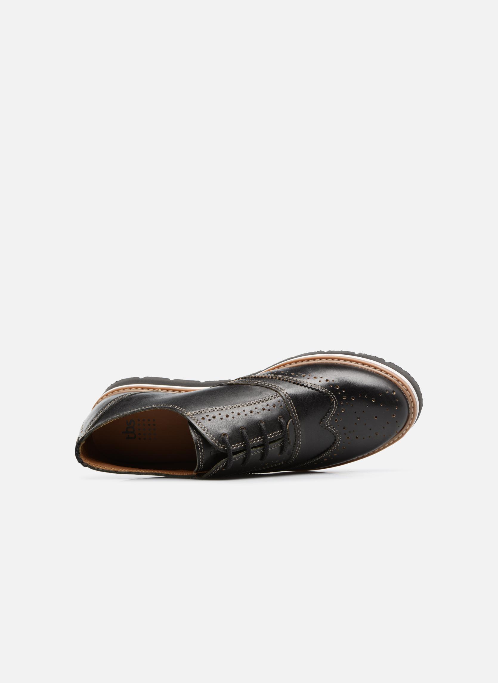 Chaussures à lacets TBS Calissa Noir vue gauche