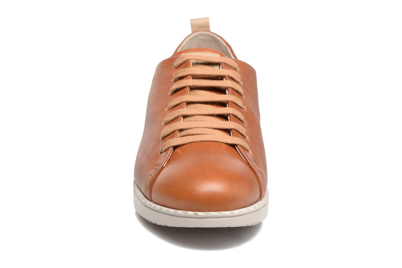 Baskets TBS Wenddi Marron vue portées chaussures