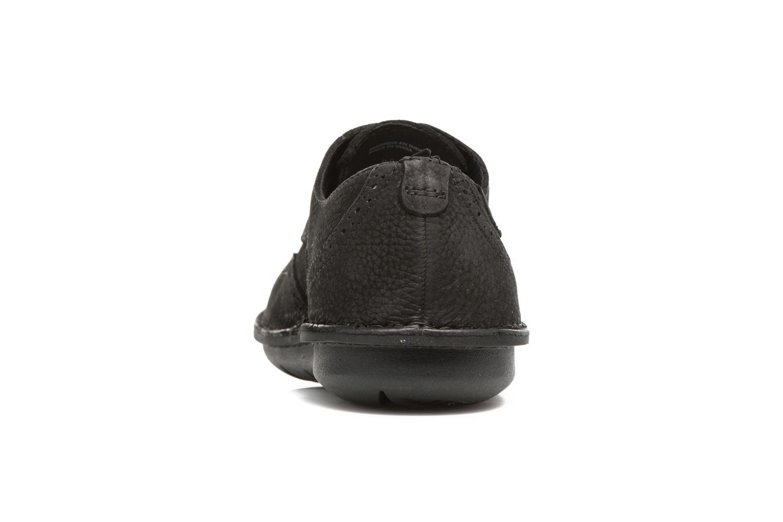 Chaussures à lacets TBS Yonkers Noir vue droite