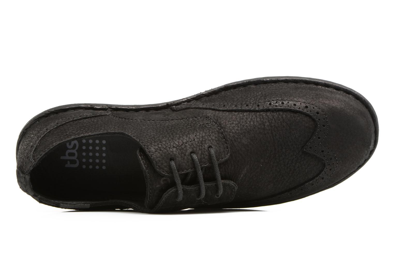 Chaussures à lacets TBS Yonkers Noir vue gauche