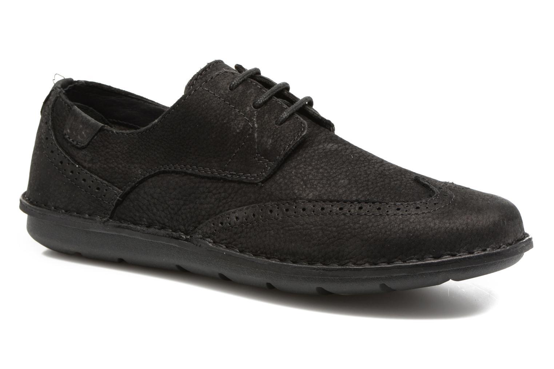 Chaussures à lacets TBS Yonkers Noir vue détail/paire