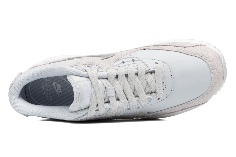 Baskets Nike Wmns Air Max 90 Prm Bleu vue gauche