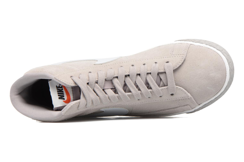 Deportivas Nike Wmns Blazer Mid Vntg Suede Gris vista lateral izquierda