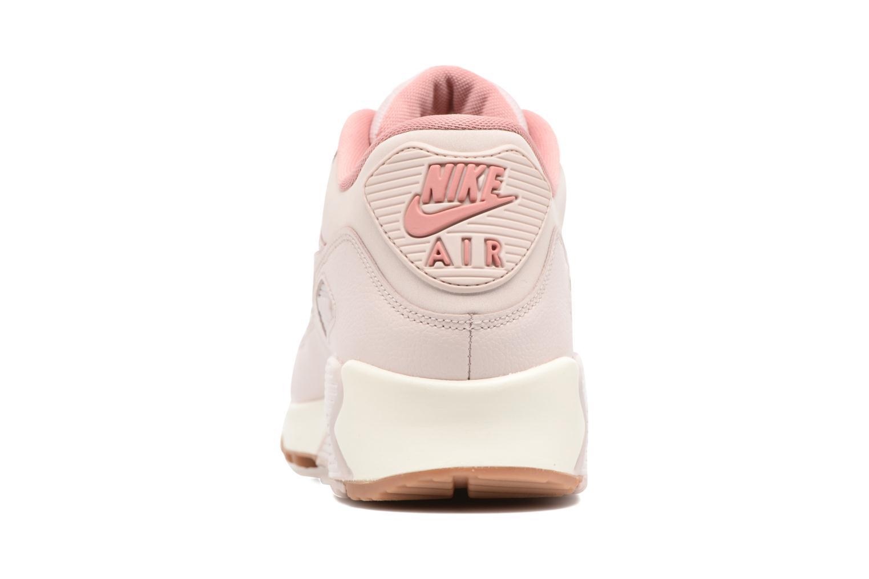 Baskets Nike Wmns Air Max 90 Lea Rose vue droite