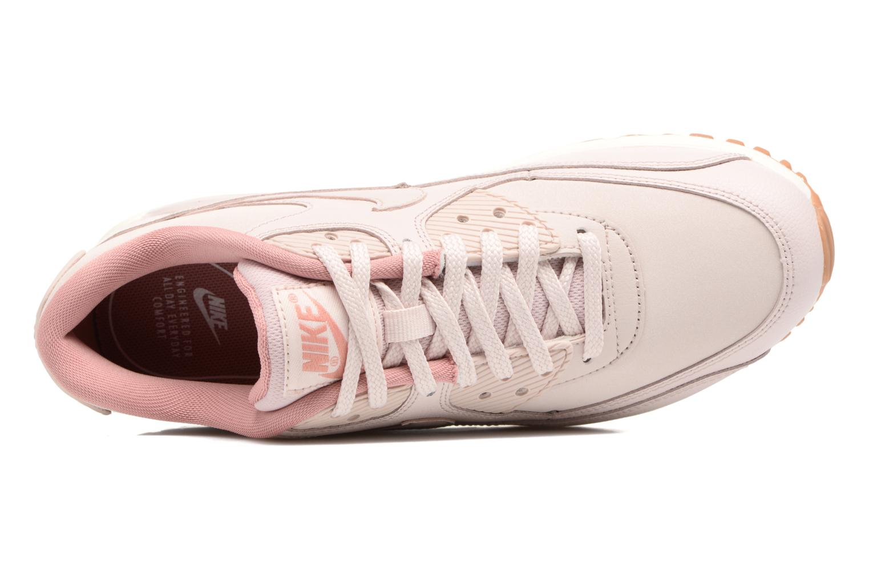 Baskets Nike Wmns Air Max 90 Lea Rose vue gauche