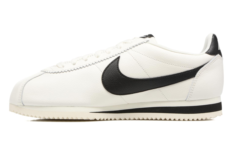 Baskets Nike Classic Cortez Leather Se Blanc vue face